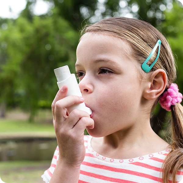 Asthma and wheezing
