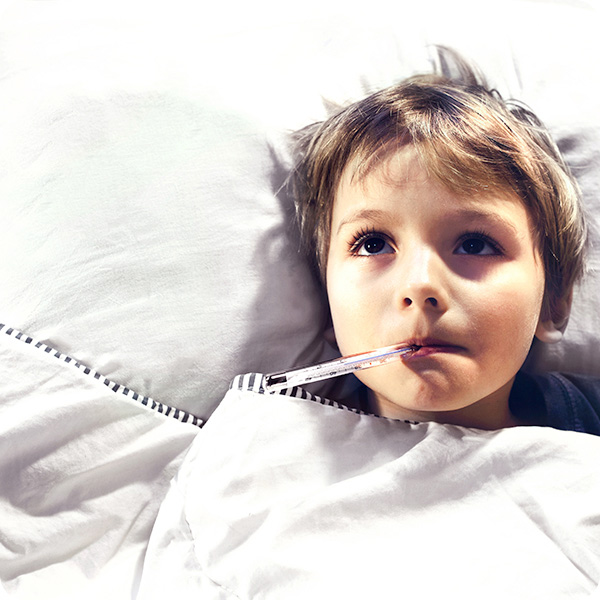 Fever in children more than 3 months old